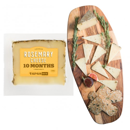 10 Months Rosemary Manchego Cheese