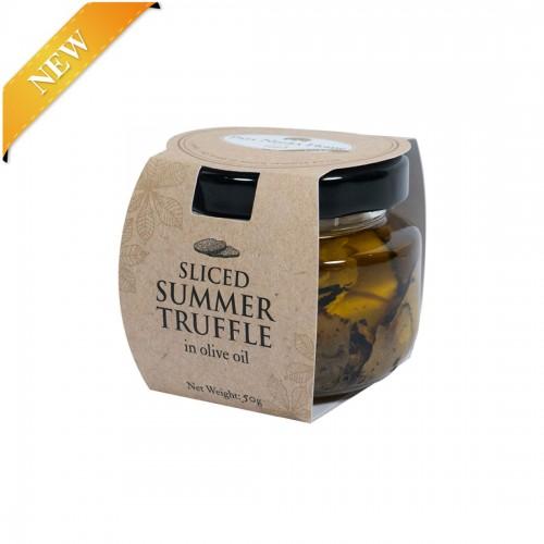 Sliced Summer Truffle In Olive Oil