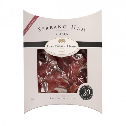 20 months Serrano Ham Cubes, Gran Reserva